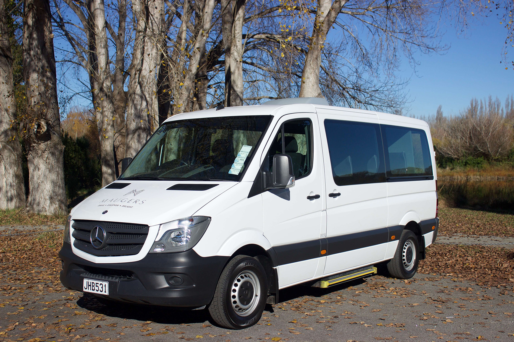 12 Seater Van Rental Minibus Rental Maugers Rentals