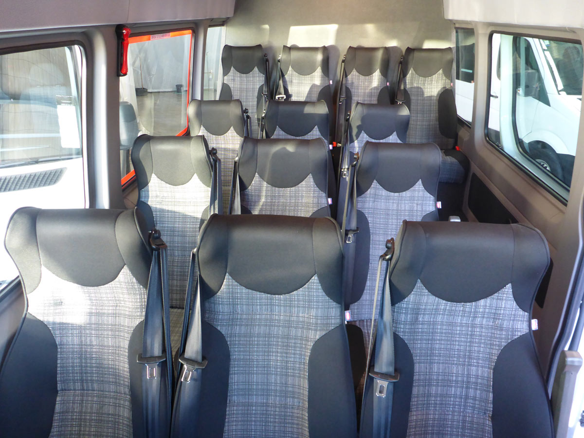 15 Seater Luxury Coach - Interior
