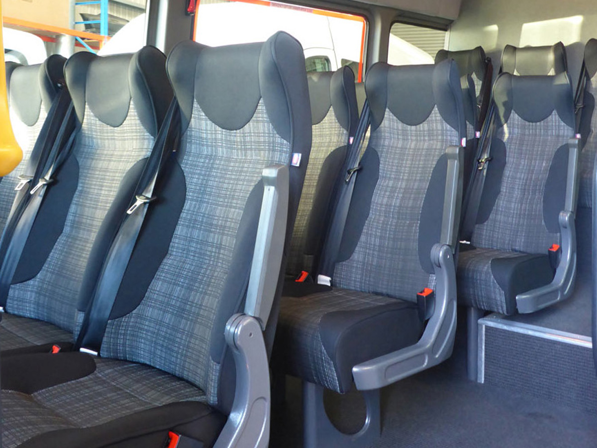 15 Seater Luxury Coach - Inside