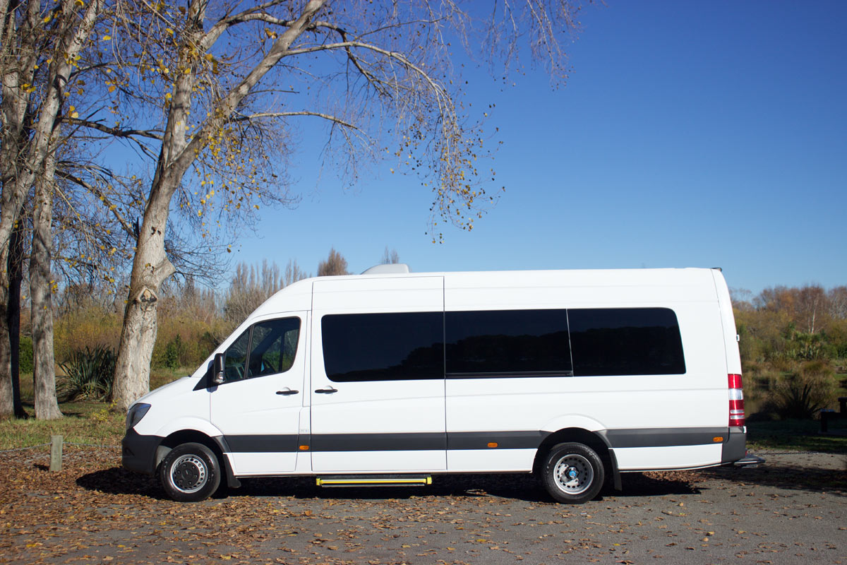 20 Seater Coach - Side Closed