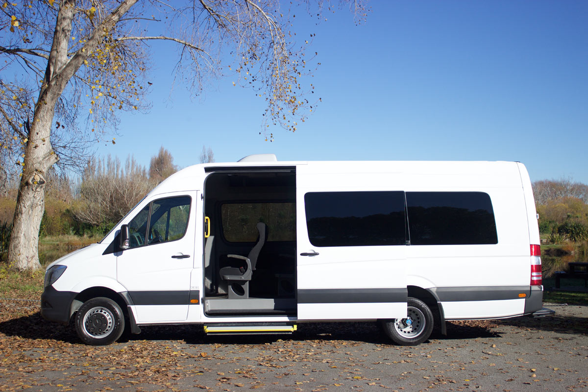 20 Seater Coach - Side Open